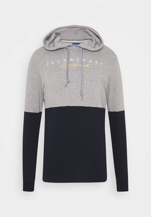 JORTRAILER HOOD - Sweatshirt - light grey melange