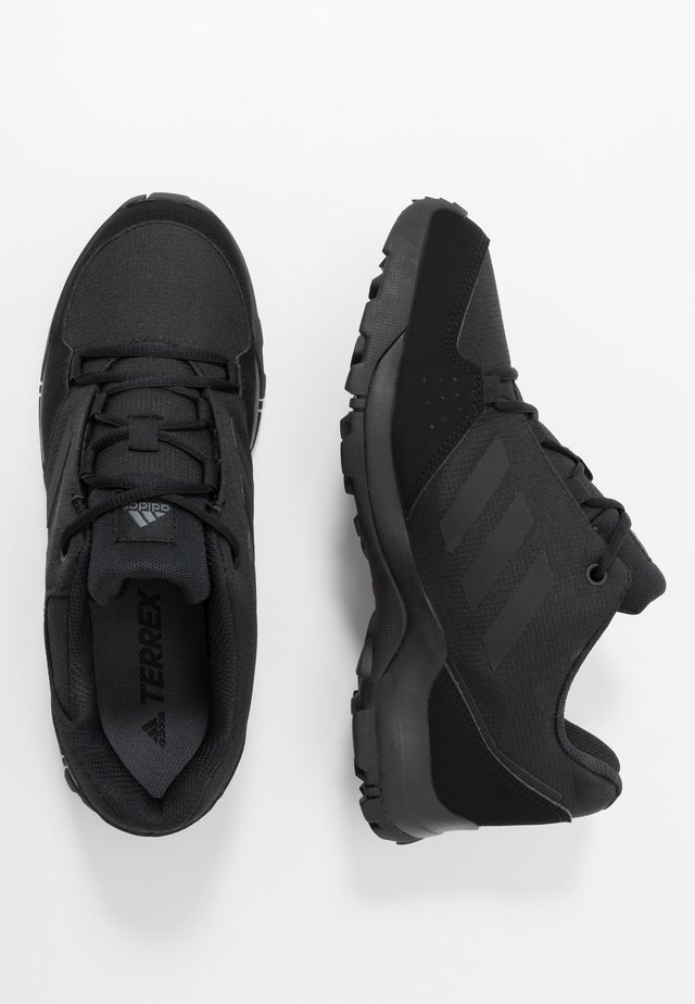 TERREX HYPERHIKER LOW UNISEX - Hiking shoes - core black/grey five