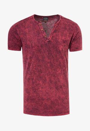 T-shirt basic - bordo