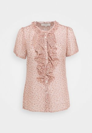 KINIA BLOUSE - Blouse - coral