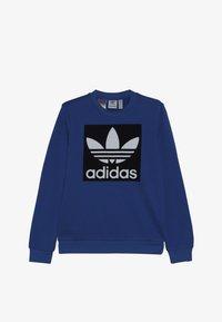 adidas Originals - TREFOIL CREW - Sweatshirt - blubir/conavy/white - 3