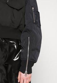 Weekday - REEVES JACKET - Light jacket - black solid - 7