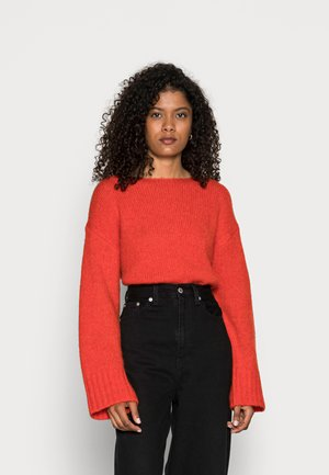 Jumper - orange red