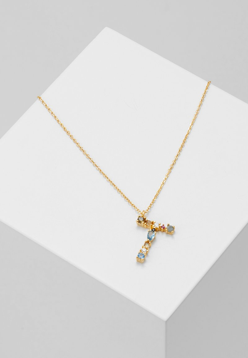 PDPAOLA - LETTER NECKLACE - Collana - gold-coloured