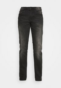 CULPEPER - Jeans straight leg - black