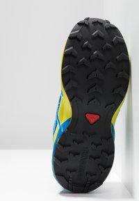 Salomon - SPEEDCROSS BUNGEE - Zapatillas de senderismo - poseidon/sky diver/sulphur spring - 4
