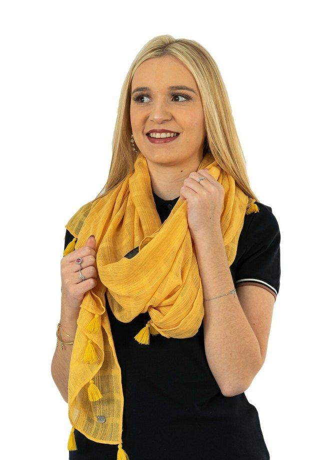 Écharpe - jaune