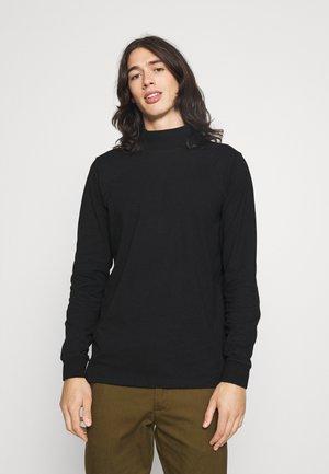 PHIL HIGH NECK - Bluzka z długim rękawem - black