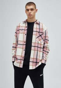 PULL&BEAR - Summer jacket - mottled pink - 2