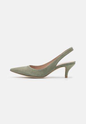 LIZ - Classic heels - salvia