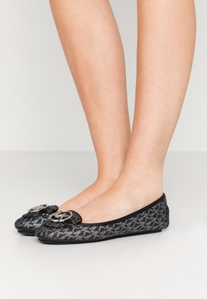 LILLIE - Ballet pumps - black/silver
