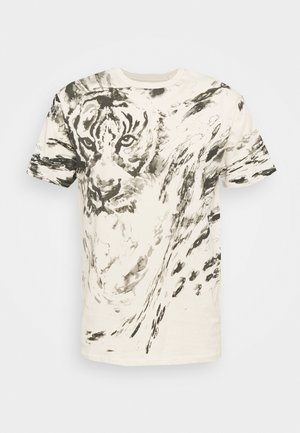 WATERCOLOR ANIMAL - Print T-shirt - olympic ivory multi