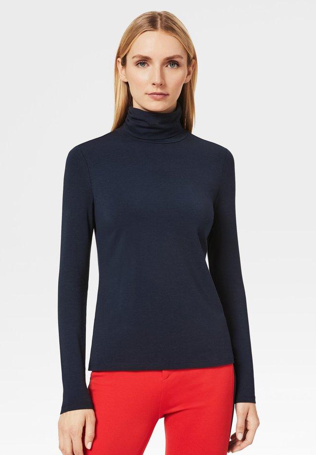 T-shirt à manches longues - navy-blau