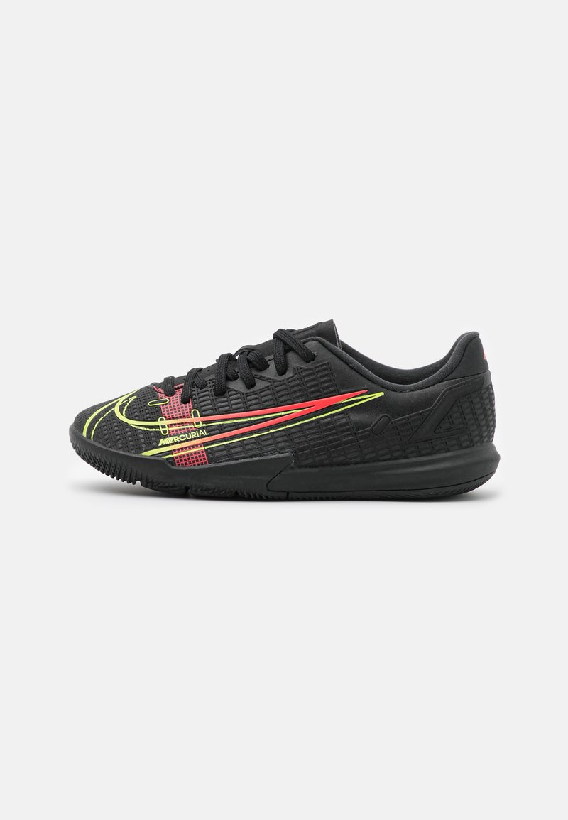 Nike Performance - MERCURIAL JR VAPOR 14 ACADEMY IC UNISEX - Halové fotbalové kopačky - black/cyber/off noir