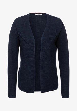 OFFENER MELANGE - Vest - blau