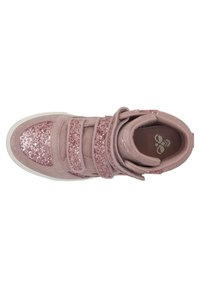 Hummel - STADIL GLITTER - High-top trainers - deauville mauve - 1