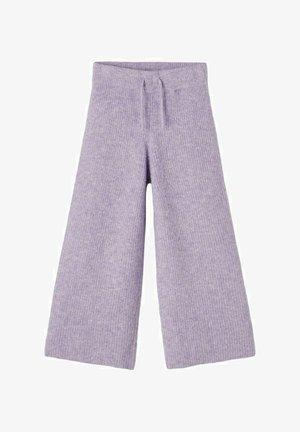 Spodnie materiałowe - purple heather