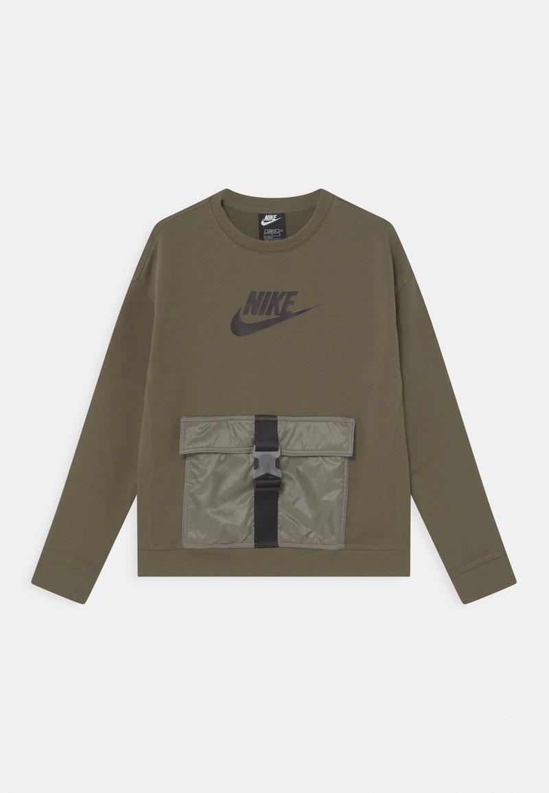 Nike Sportswear - UTILITY - Felpa - medium olive/light army