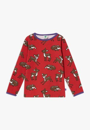DEER - Long sleeved top - dark red