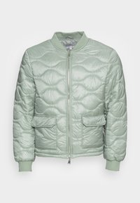 Another Influence - ONION QUILT JACKET - Blouson Bomber - mint - 3