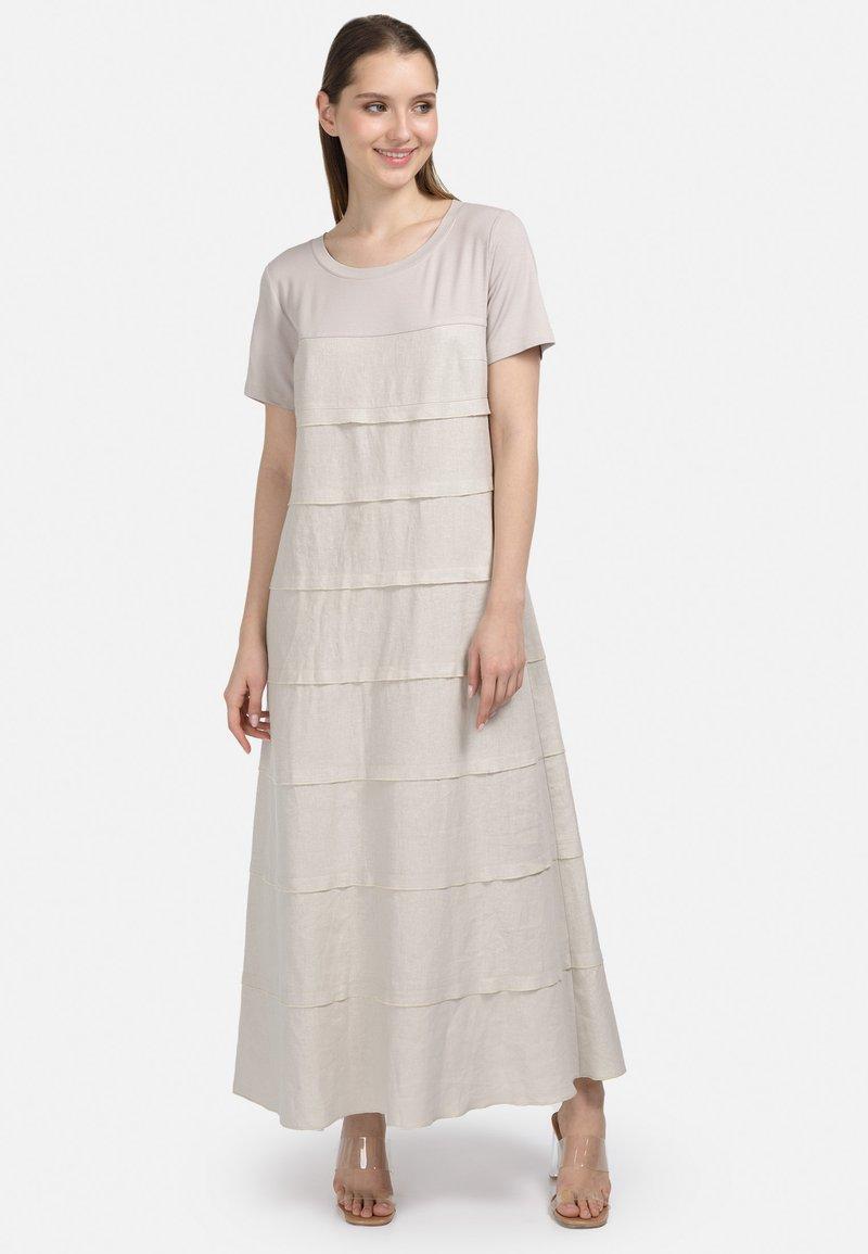 HELMIDGE - Maxi dress - hellbeige