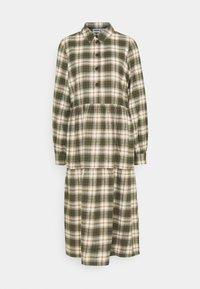 Noisy May - NMERIK LOOSE LONG DRESS - Shirt dress - fir green - 0