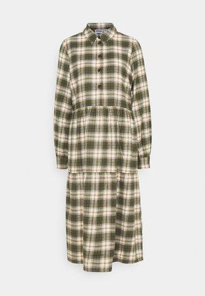 NMERIK LOOSE LONG DRESS - Robe d'été - fir green