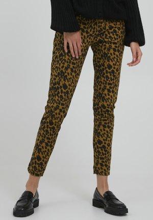 IHSTELLA - Trousers - golden brown