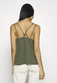 Noisy May - NMMAISIE ENDI STRAP  - Top - olive night - 2