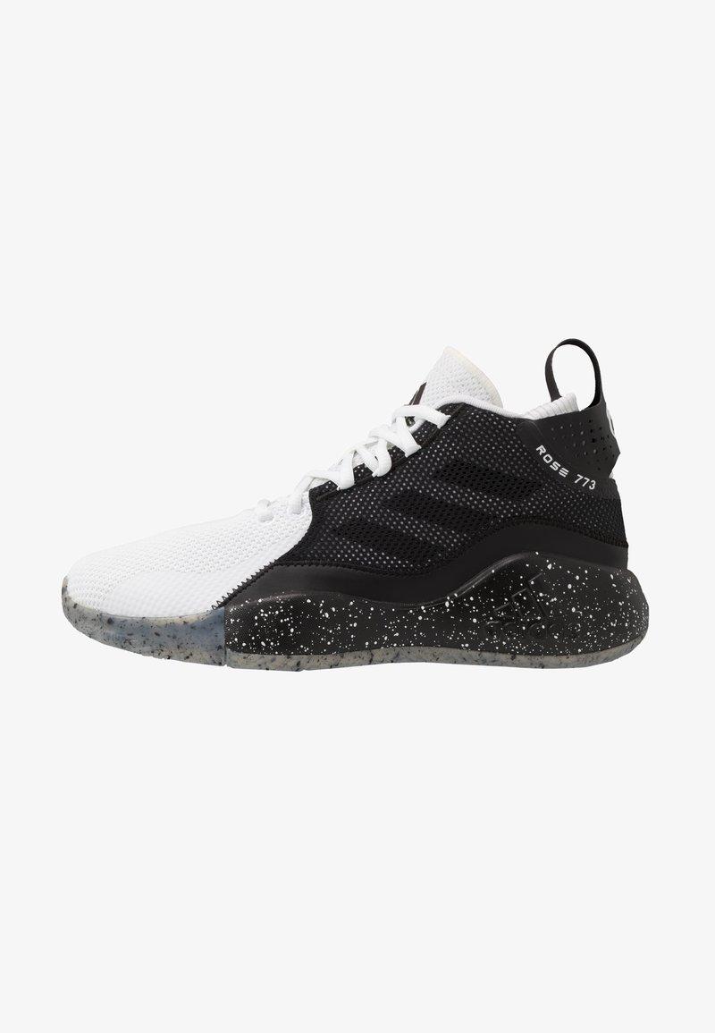 adidas Performance - ROSE 773 2020 - Basketbalové boty - footwear white/core black