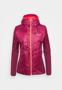 Salewa - ORTLES HYBRID - Outdoor jacket - rhodo red - 3