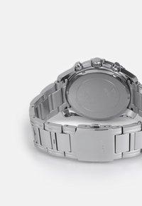 Guess - INTREPID - Rannekello ajanottotoiminnolla - silver-coloured - 1