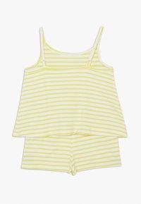 Name it - NMFJILL SHORT SUIT 2 PACK  - Jumpsuit - limelight/bright white - 2