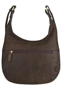 Klondike 1896 - SIENNA - Handbag - dunkelbraun - 1