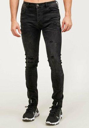 BALFERN SUPERSLIM FIT - Slim fit jeans - black