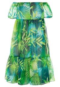 Versace - DRESS JUNGLE CAPSULE - Day dress - verde - 1