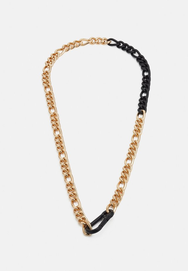 CARABINER CHAIN NECKLACE - Collana - gold-coloured