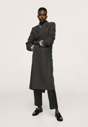 SAPIENS - Klasyczny płaszcz - bleu marine