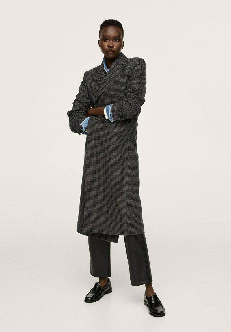 Mango - SAPIENS - Classic coat - bleu marine