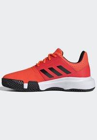 adidas Performance - COURTJAM - Clay court tennis shoes - orange - 9
