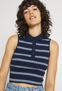 BDG Urban Outfitters - SLEEVELESS STRIPED - Top - navy - 3