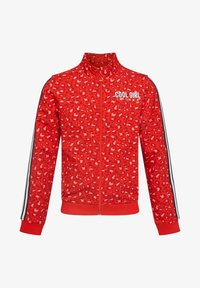 WE Fashion - MIT LEOPARDENMUSTER - Blouson Bomber - red - 0