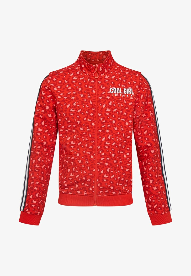 WE Fashion - MIT LEOPARDENMUSTER - Blouson Bomber - red