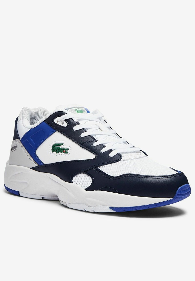 Lacoste - STORM 96  - Sneakers - white/navy