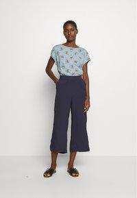 s.Oliver - 7/8 - Kalhoty - blue - 1