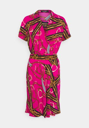 PRINTED DRESS - Day dress - aruba pink