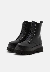 RAID - HARLOW - Platform ankle boots - black - 2
