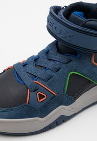 Geox - PERTH BOY - Sneaker high - navy/avio - 5