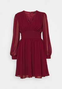 TFNC - DANYA MINI DRESS - Day dress - burgundy - 0