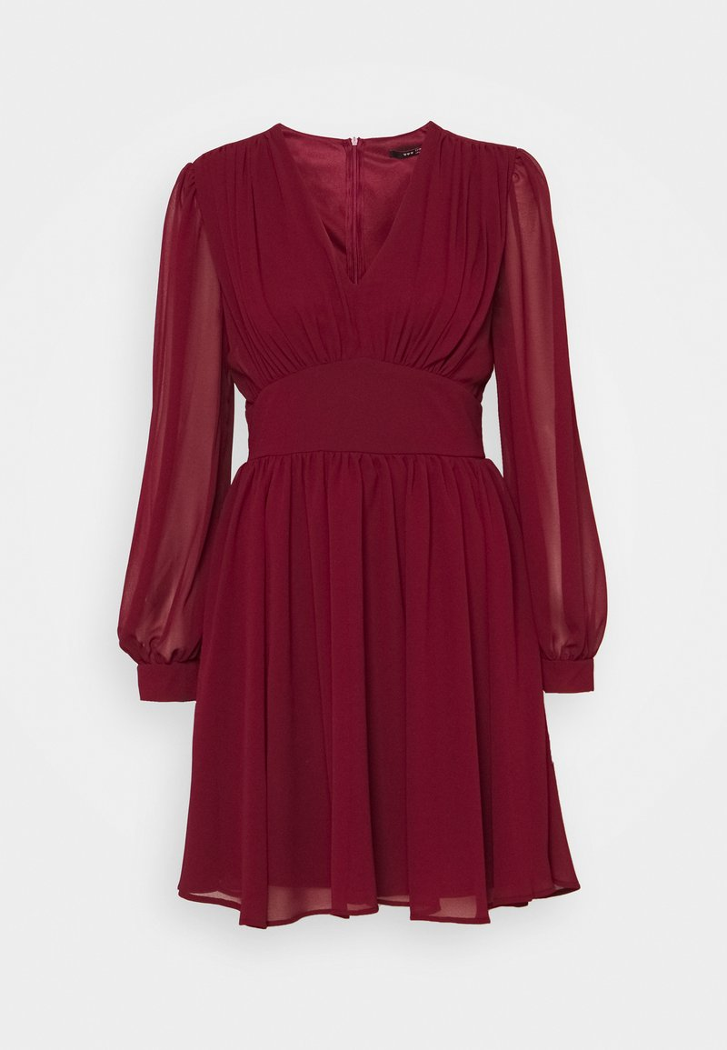 TFNC - DANYA MINI DRESS - Day dress - burgundy